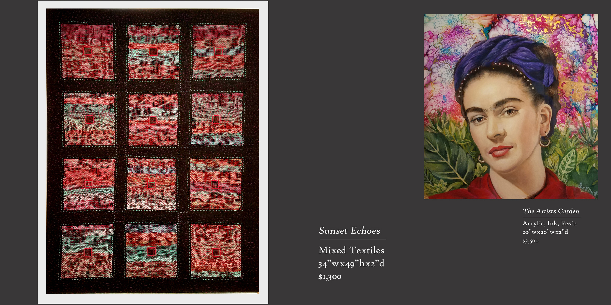 Sunset Echoes and Artists' Garden
