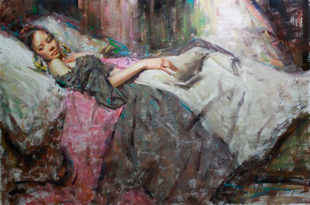 Memories in Grey by Kevin C Beilfuss OPA, 24×36, $8,000