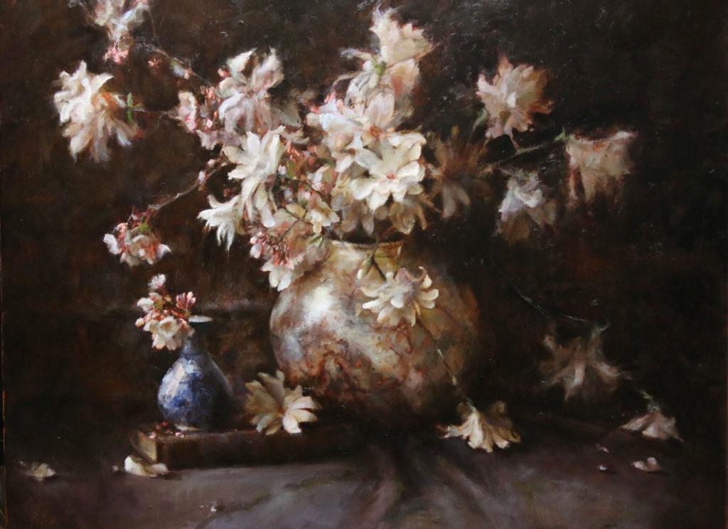 Still Magnolias by Jenny Buckner OPA, 30×40, $9,500