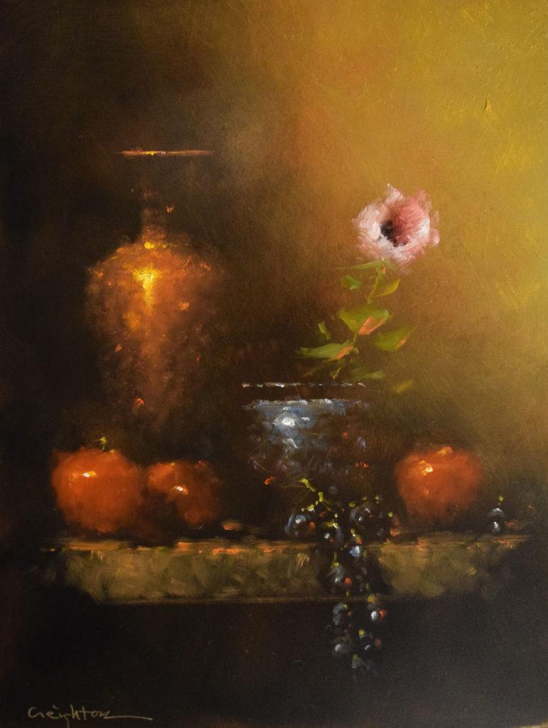 A Studio Composition by Steven L Creighton, 16×12, $900
