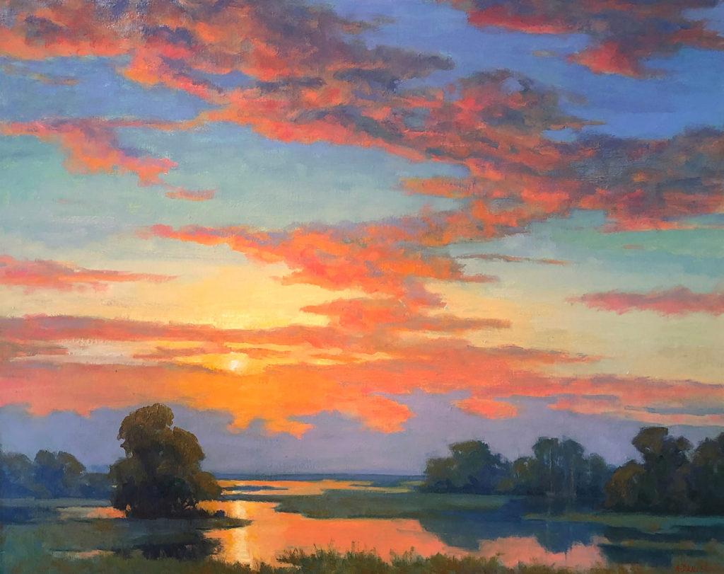 Morning Delight by Arlene E Daniel, 16×20, $1,620