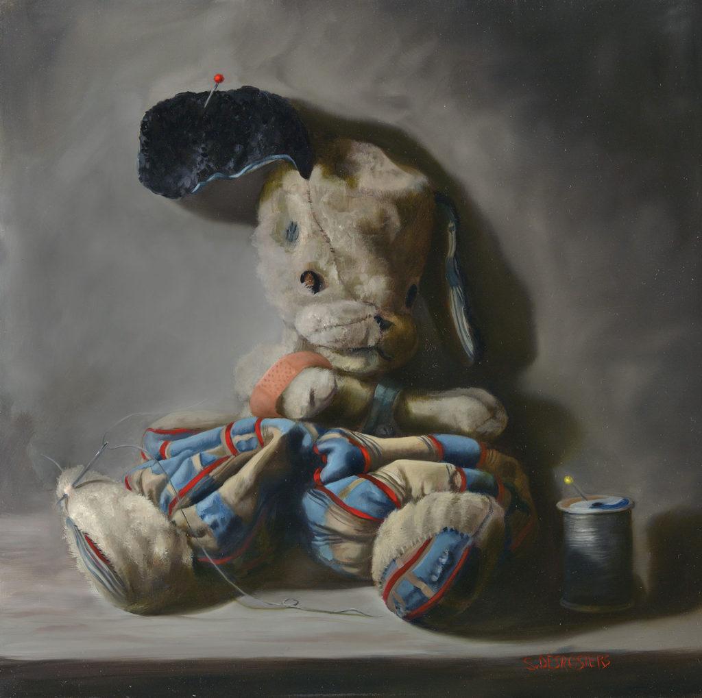 Better Days by Sandra Desrosiers, 12×12, $1,400