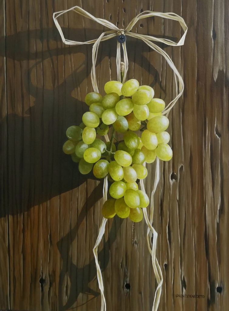 Hanging Grapes by Loren DiBenedetto, 24×18, $3,800