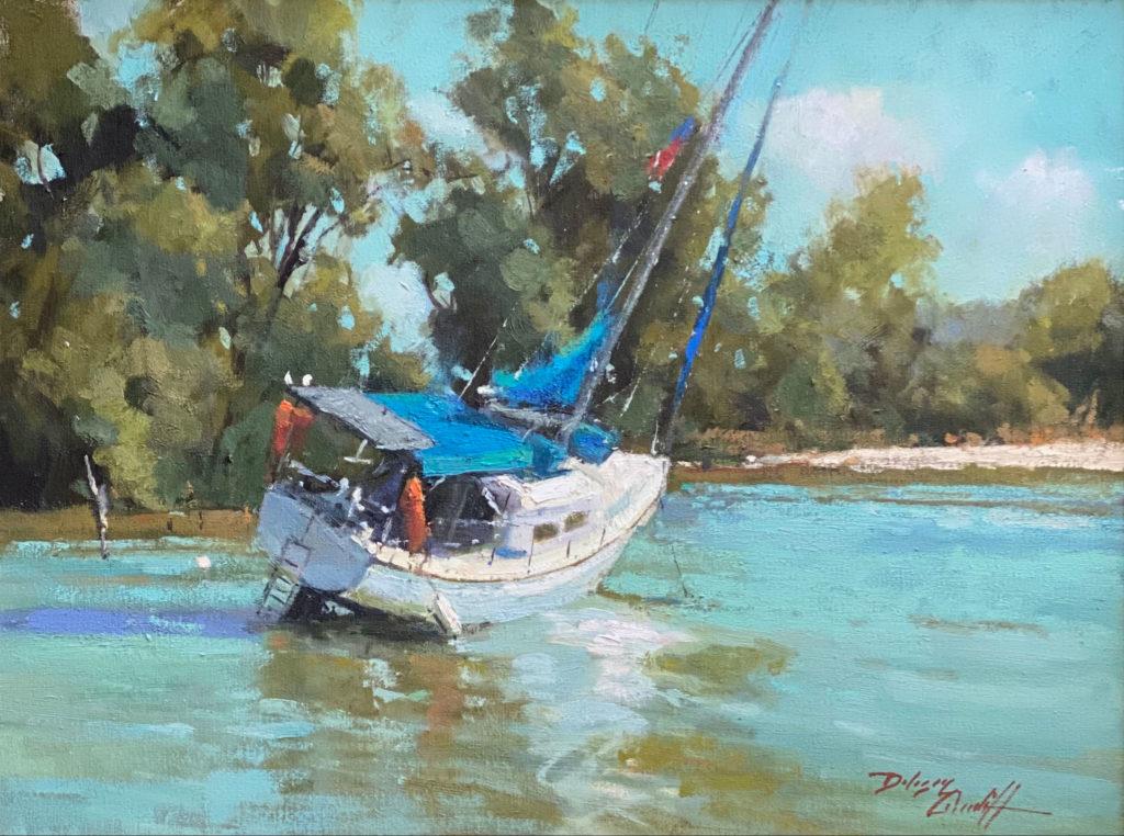 Aground by Katie Dobson Cundiff, $2,450