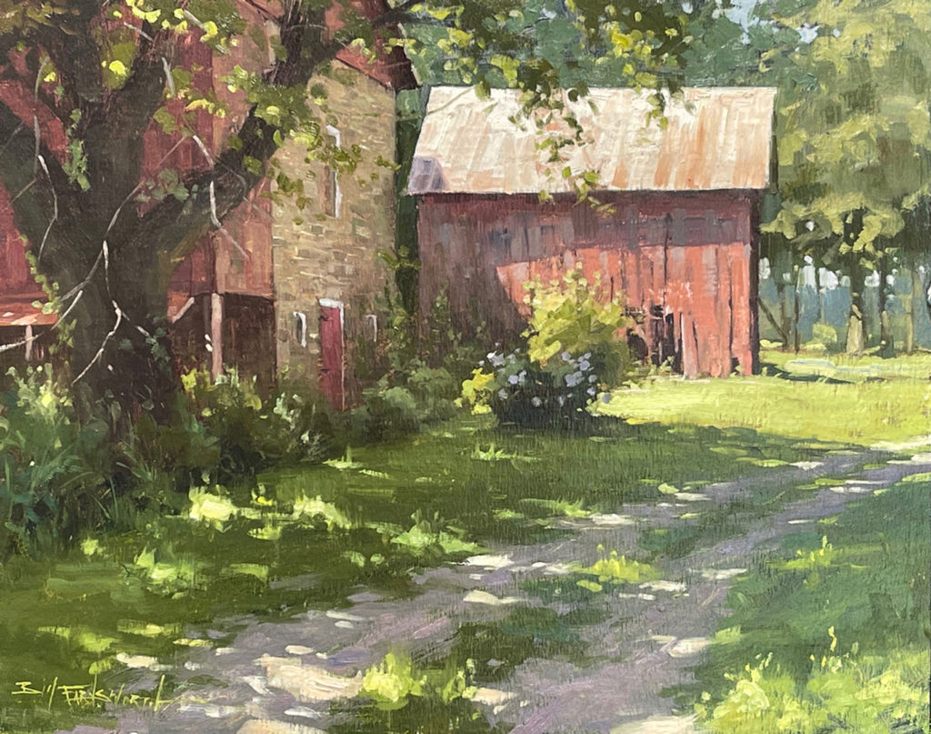 Cool Shade by Bill Farnsworth OPA, 16×20, $3,600