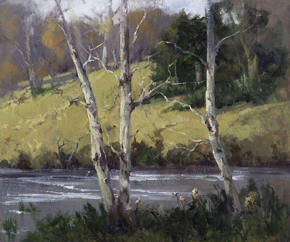 November's Beauty by Mary Garrish, 20×24, $3,200