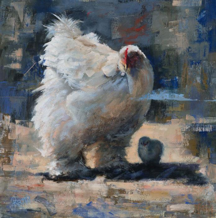 Sheltered by Rana Jordahl, 18×18, $1,900