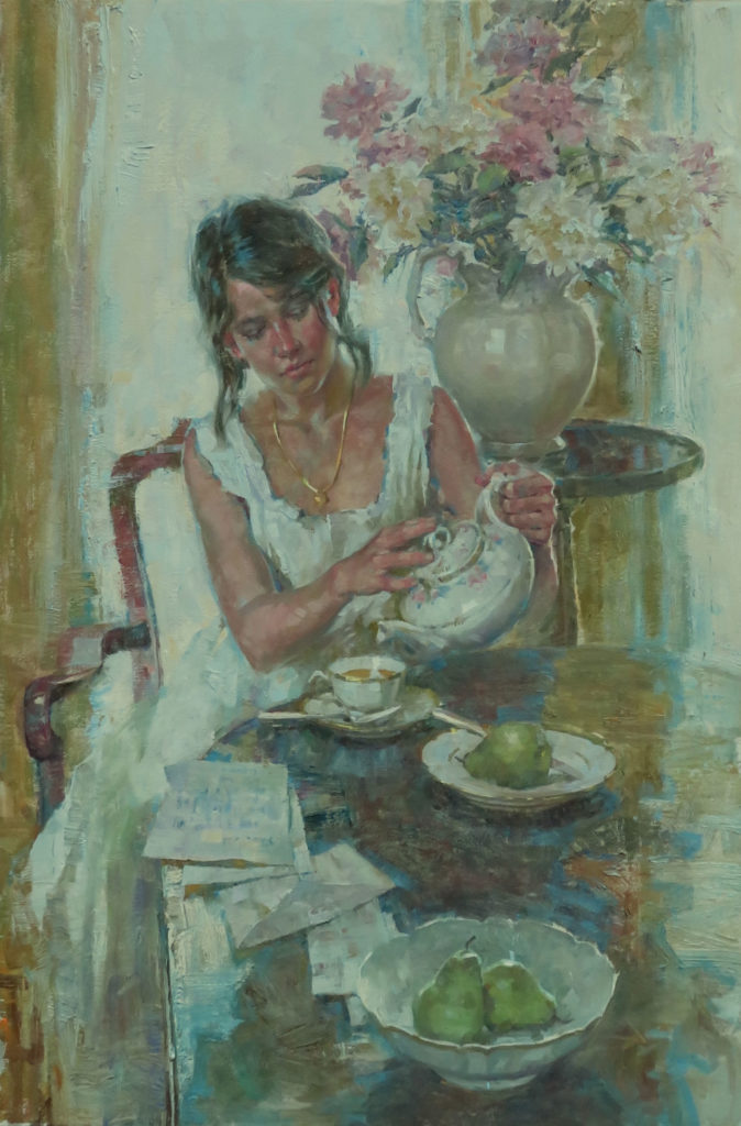 Morning Correspondence by John Michael Carter OPAM, 36×24, $12,500