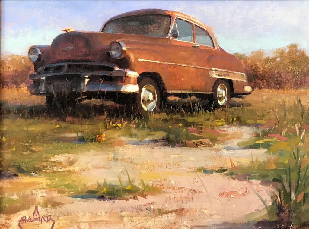 Tanned by Antwan L Ramar, 12×16, $1,500