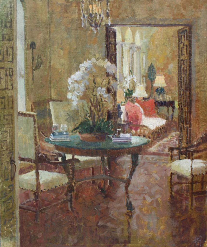 La Solana View to Sunroom by Hope B Reis, 24×20, $4,200