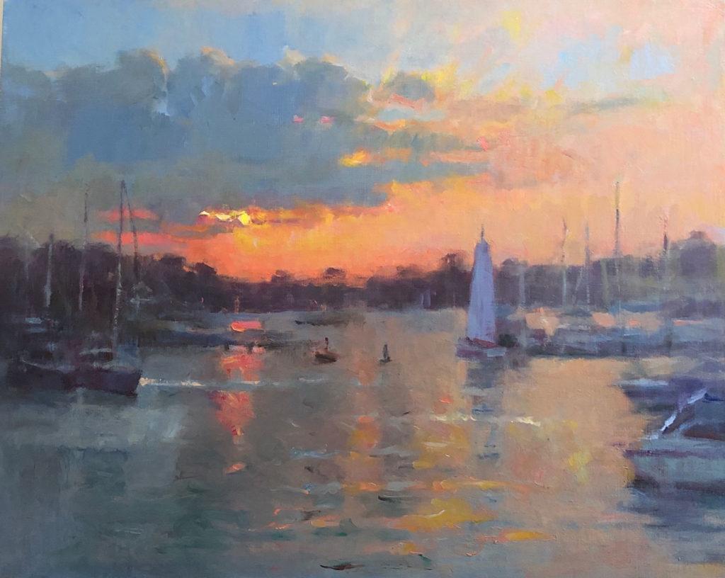 Sunset by Yelena Snovsky, 24×30, $4,700