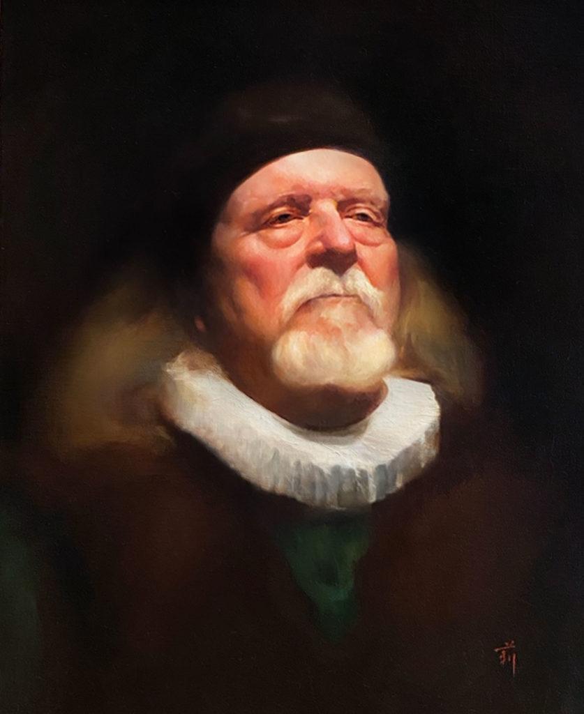 Nobleman by Li Volk, 20×16, $4,700