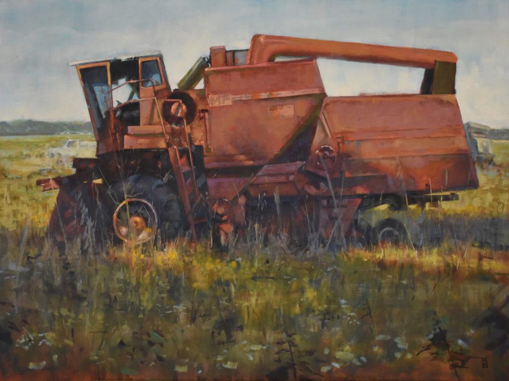 One Old MF (Massey Ferguson) by Steven S Walker, 30×40, $4,900