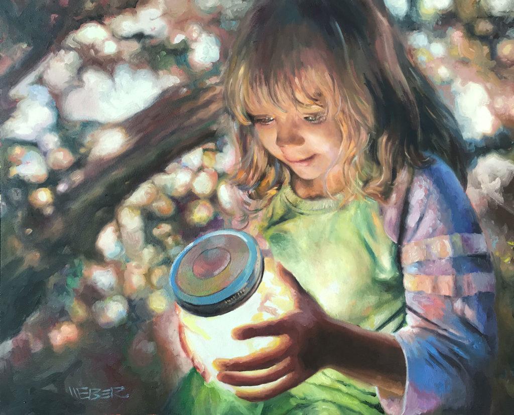 Firefly by Chuck J Weber, 20×26, $2,200