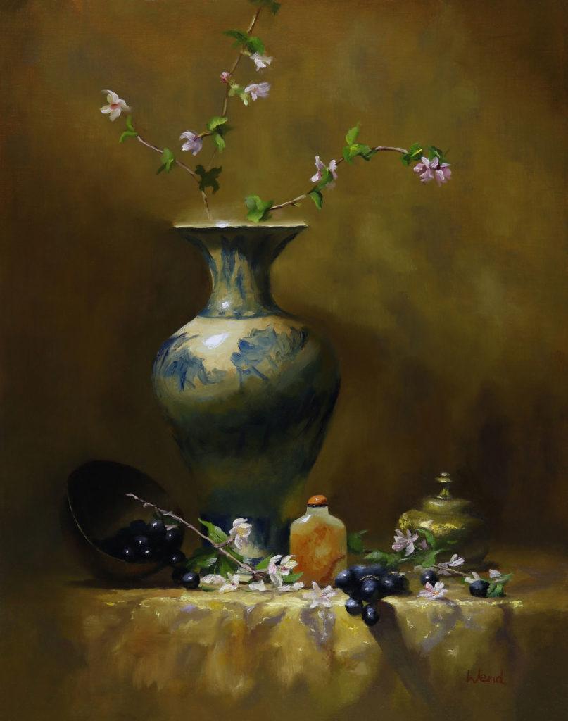 Golden Hour by Trish Wend, 16×12, $2,300
