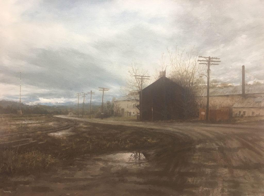 Sentinel by Steven J White, 18×24, $1,600